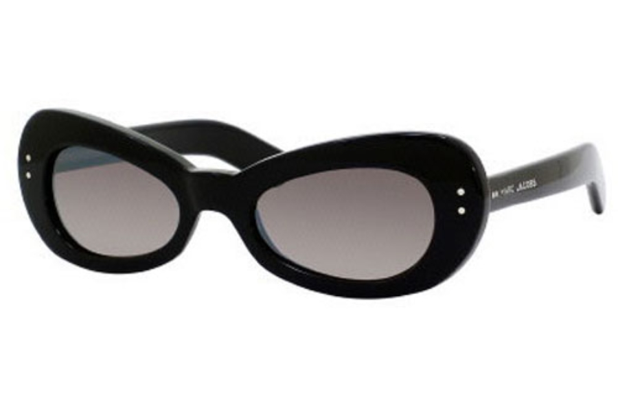 Marc Jacobs 366/S Sunglasses in 0807 Black (NQ brown mirror gradient lens)