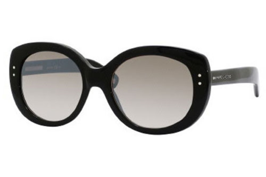 Marc Jacobs 367/S Sunglasses in 0807 Black (NQ brown mirror gradient lens)