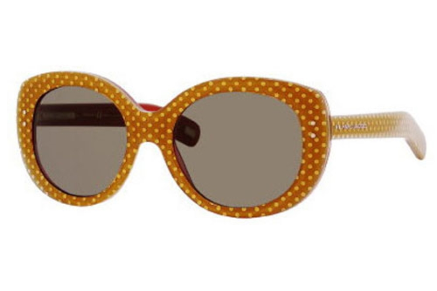 Marc Jacobs 367/S Sunglasses in 0MU2 Caramel Pois (70 brown lens)