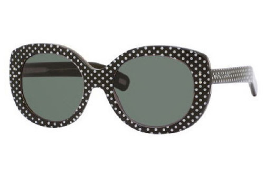 Marc Jacobs 367/S Sunglasses in 0MU3 Brown Pois (QT green lens)