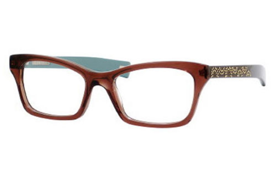 Marc Jacobs 370 Eyeglasses in 0ON2 Brown Turquoise