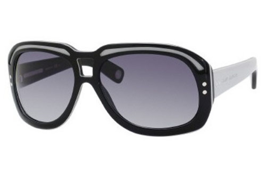 Marc Jacobs 402/S Sunglasses in 0CTP Black Gray Brown (JJ gray gradient lens)