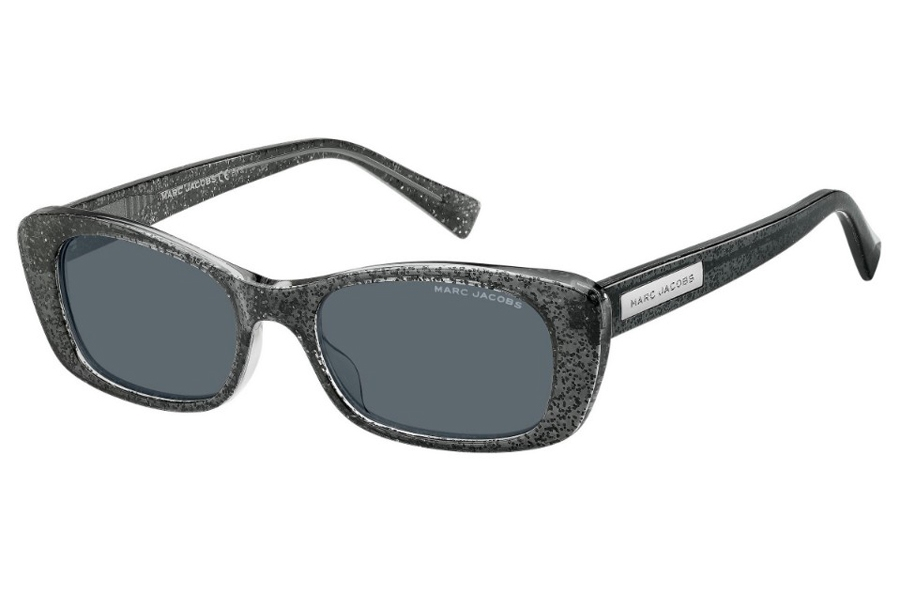 Marc Jacobs Marc 422/S Sunglasses in 0Y6U Gray Glitter (IR Gray Blue)