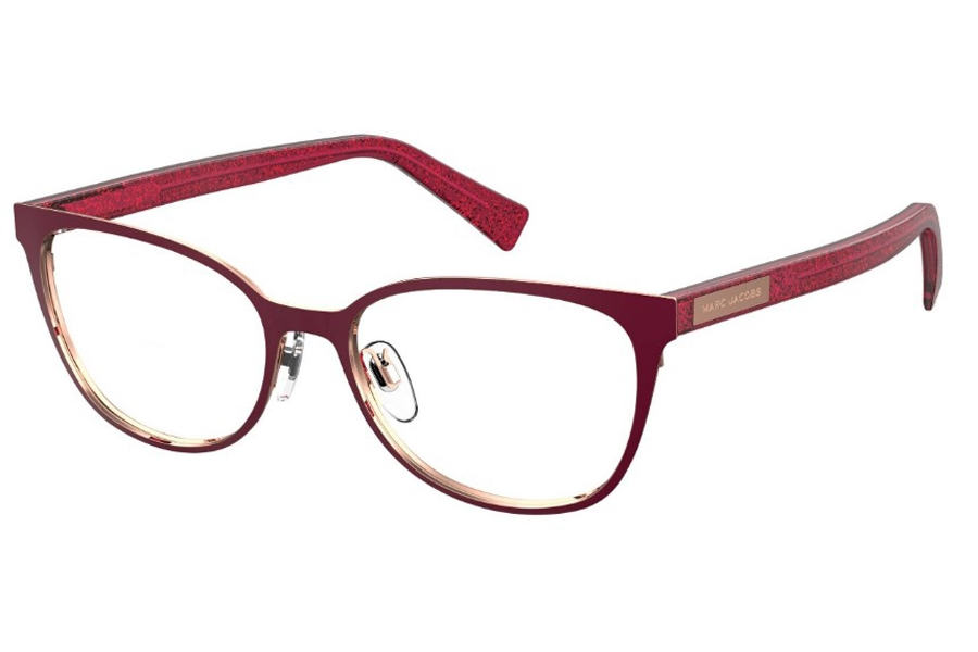 Marc Jacobs Marc 427 Eyeglasses in 0LHF Opal Burgundy (00 Demo Lens)