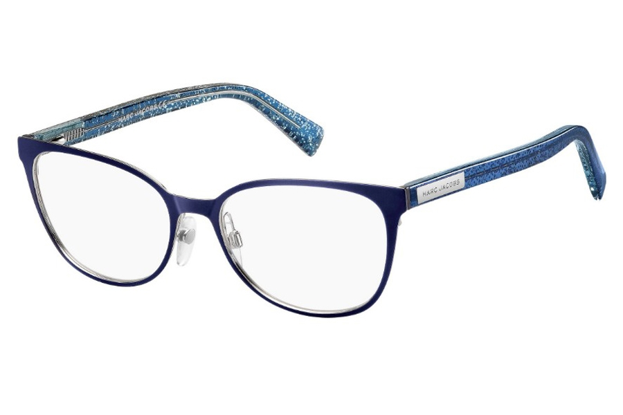 Marc Jacobs Marc 427 Eyeglasses in 0PJP Blue (00 Demo Lens)