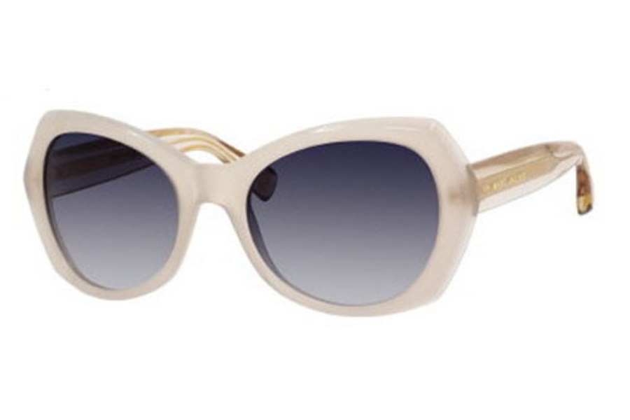 Marc Jacobs 434/S Sunglasses in 03R7 Sand (08 dark blue gradient lens)