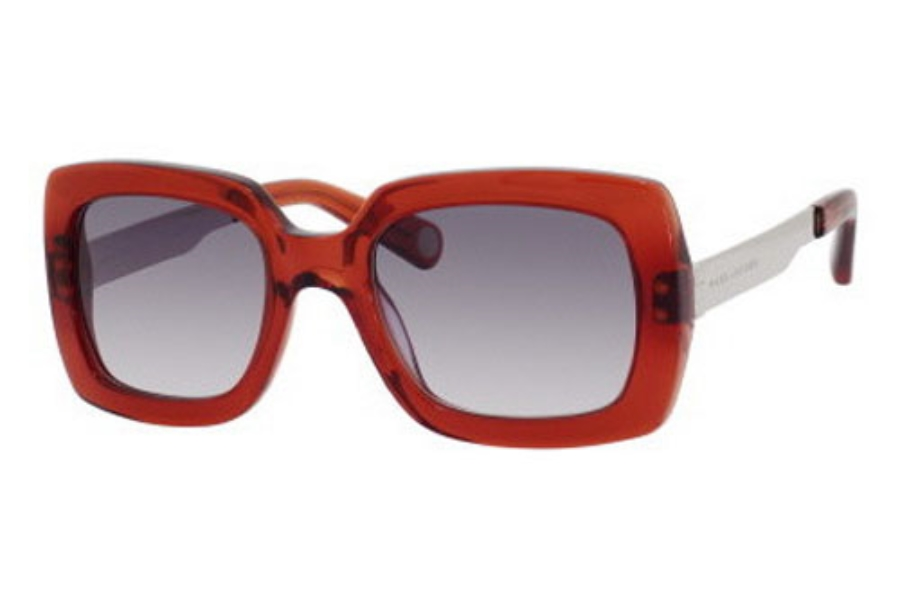 Marc Jacobs 467/S Sunglasses in 052N Dark Orange (BD dark gray gradient lens)
