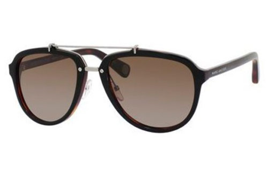Marc Jacobs 470/S Sunglasses in 0BG4 Black Dark Tortoise (LA brown polarized lens)