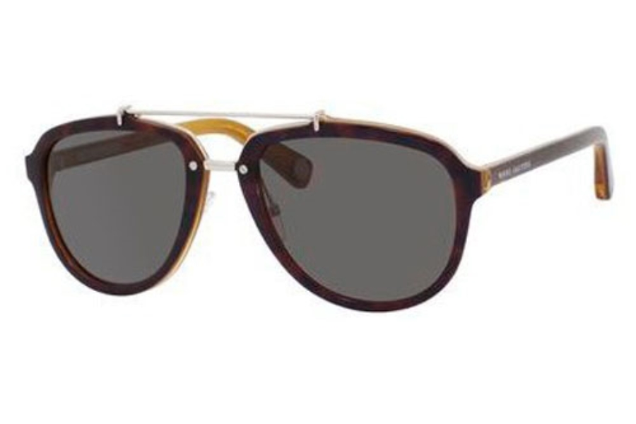 Marc Jacobs 470/S Sunglasses in 0GZT Havana Honey (Y1 gray lens)
