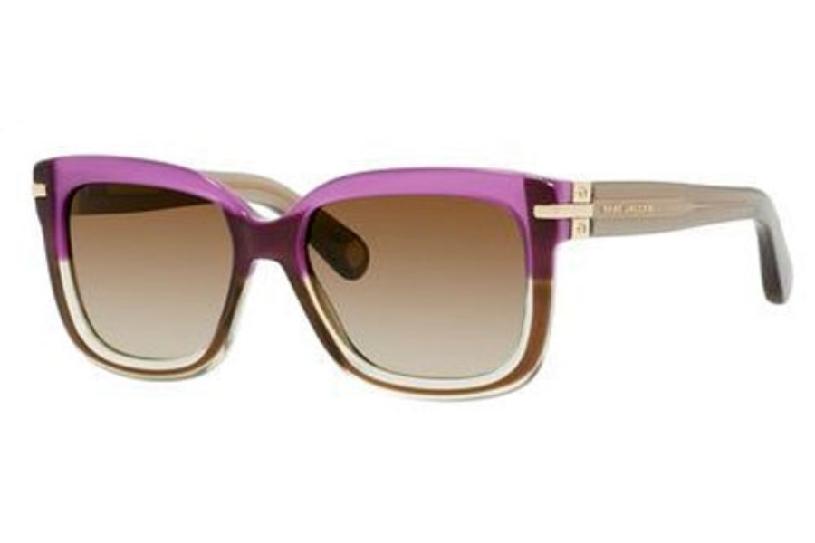 Marc Jacobs 507/S Sunglasses in 00MN Brown Plum Green (IF brown gradient azure lens)
