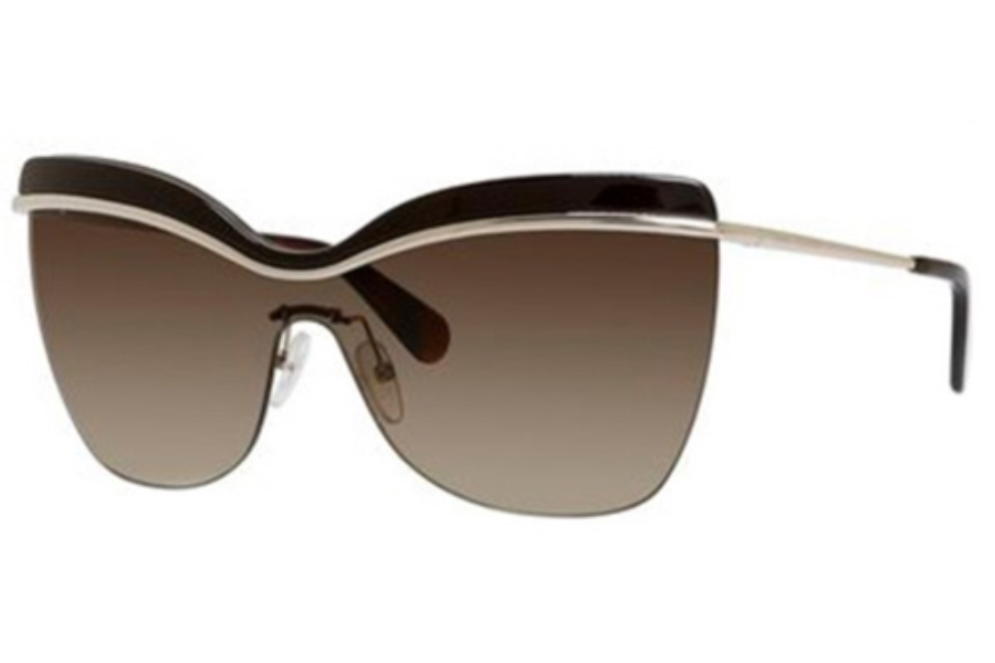 Marc Jacobs 557/S Sunglasses in 00KH Light Gold/Brown (S9 Brown Gradient Lens)