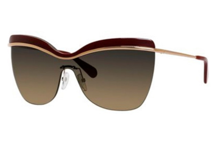 Marc Jacobs 557/S Sunglasses in 00KM Gold Copper (R4 Gray Green Gradient Lens)