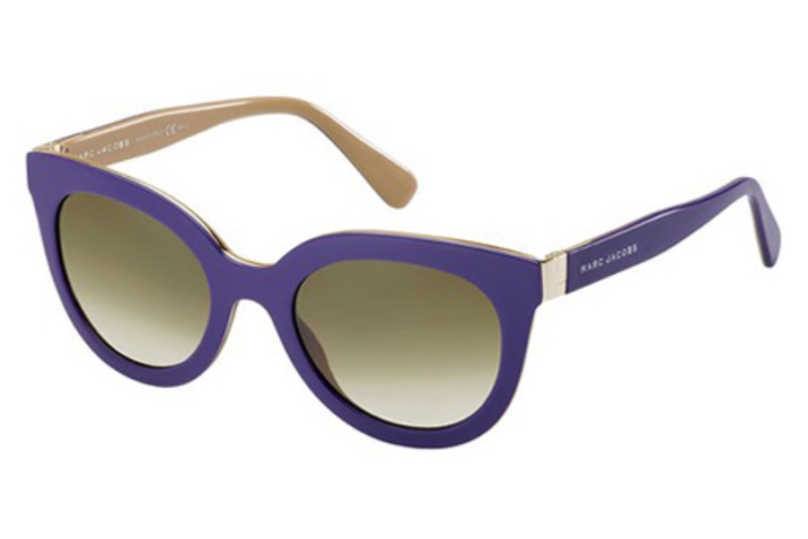Marc Jacobs 561/S Sunglasses in 0LGB Violet Beige (DB Brown Gray Gradient Lens)