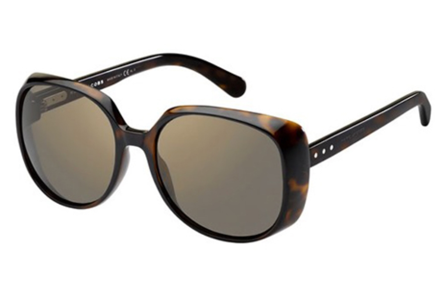 Marc Jacobs 564/S Sunglasses in 0KMS Havana/Dark Havana (HJ Gunmetal Mirror Lens)