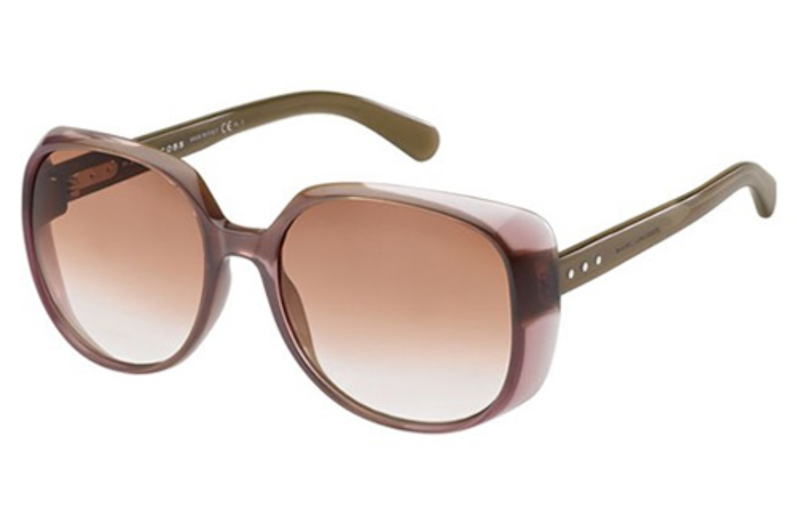 Marc Jacobs 564/S Sunglasses in 0KMY Pink Mud (NF Burgundy Gradient Lens)