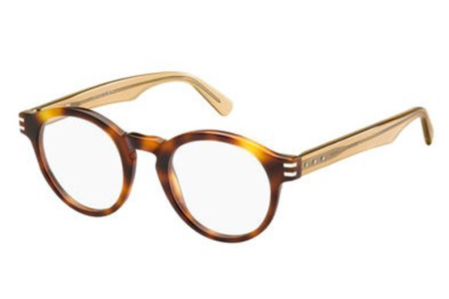 Marc Jacobs 601 Eyeglasses in 06A2 Havana Honey