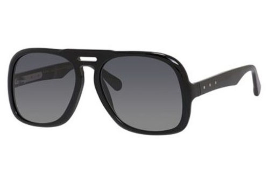 Marc Jacobs 626/S Sunglasses in 0807 Black (HD gray gradient lens)
