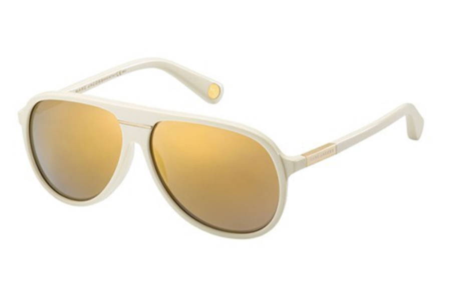 Marc Jacobs 514/S Sunglasses in 0SBR Ivory (SQ multilayer gold lens)