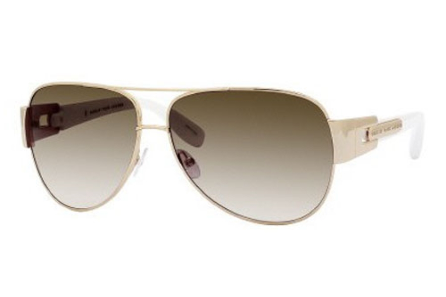 9f8869882d68 ... Marc By Marc Jacobs MMJ 107/S Sunglasses in 0J5G Endura Gold (JS gray  ...