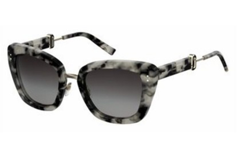 Marc Jacobs Marc 131/S Sunglasses in 0P30 Gray Havana (9O dark gray gradient lens)