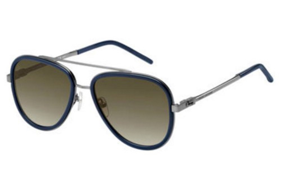 Marc Jacobs Marc 136/S Sunglasses in 0PWD Blue (HA brown gradient lens)