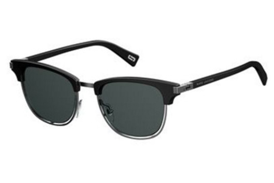 Marc Jacobs Marc 171/S Sunglasses in 0284 Black Ruthenium (IR gray blue lens)