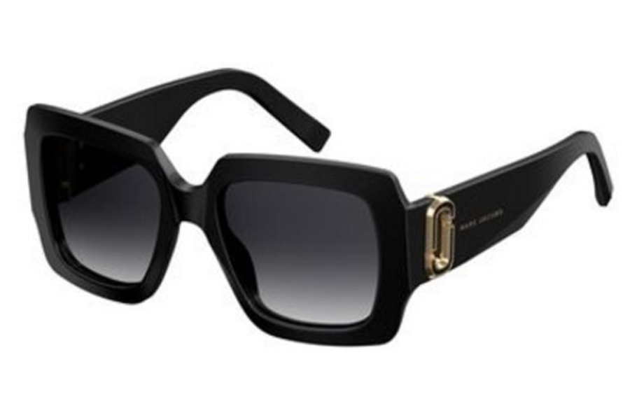 Marc Jacobs Marc 179/S Sunglasses in 0807 Black (9O dark gray gradient lens)