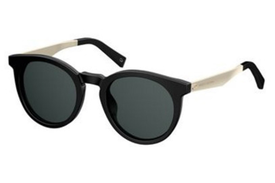 Marc Jacobs Marc 204/S Sunglasses in 0807 Black (IR gray blue lens)