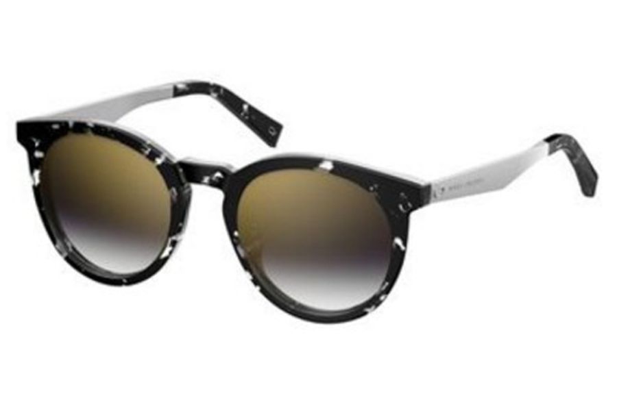Marc Jacobs Marc 204/S Sunglasses in 09WZ Havana Black Crystal (FQ gray sf gold sp lens)