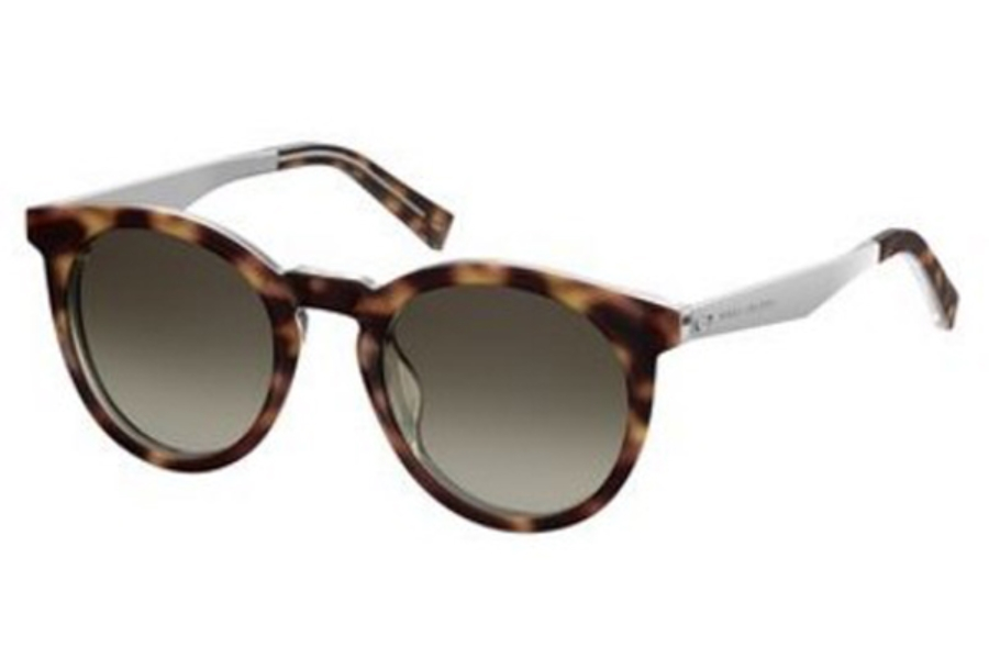 Marc Jacobs Marc 204/S Sunglasses in 0KRZ Havana Crystal (HA brown gradient lens)