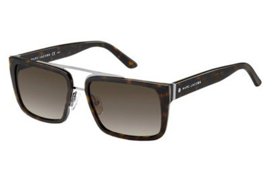 Marc Jacobs Marc 57/S Sunglasses in 0W2K Dark Havana (HA brown gradient lens)