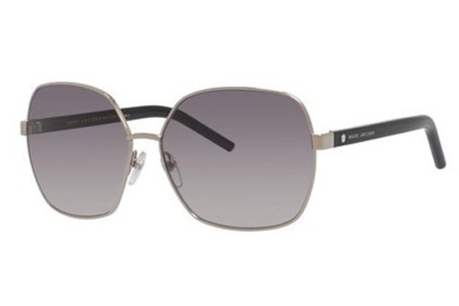 Marc Jacobs Marc 65/S Sunglasses in 084J Palladium / Black (VK gray gradient lens)