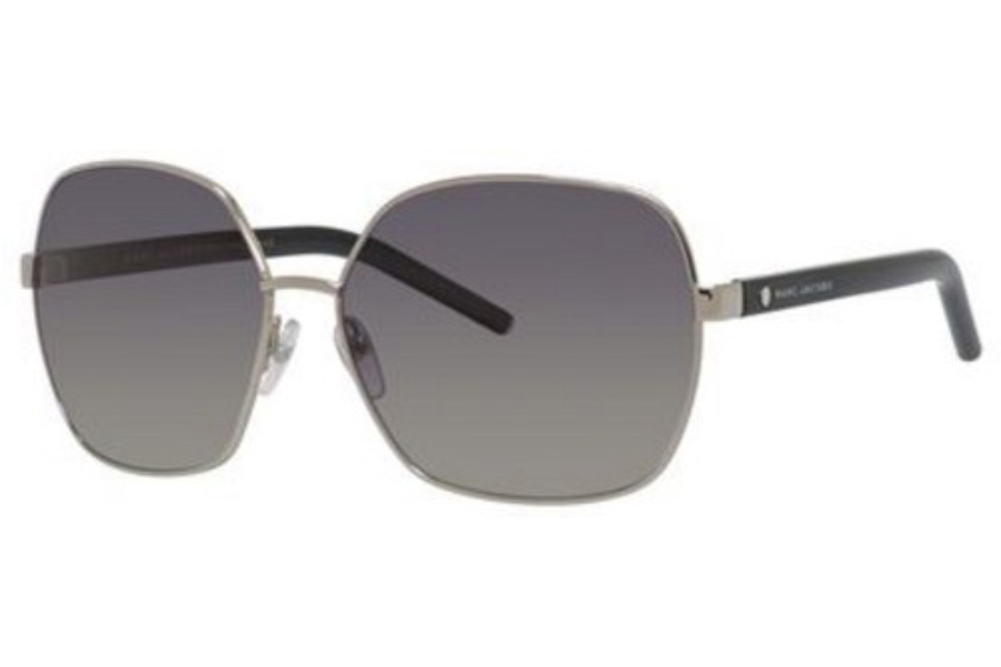 Marc Jacobs Marc 65/S Sunglasses in 084J Palladium / Black (WJ gray sf pz lens)