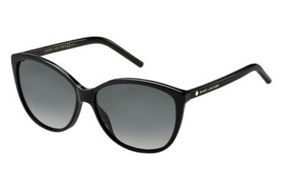 Marc Jacobs Marc 69/S Sunglasses in 0807 Black (WJ gray sf pz lens)