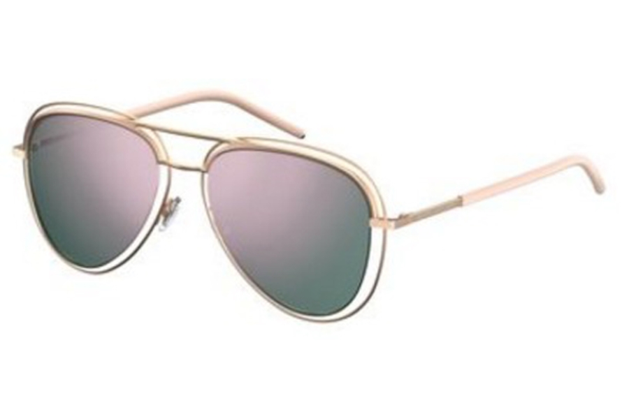 Marc Jacobs Marc 7/S Sunglasses in 026J Redgd Pink (0J gray rose gold lens)