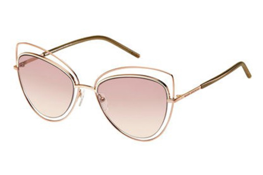 Marc Jacobs Marc 8/S Sunglasses in 0TXA Gold Copper (05 pink beige lens)