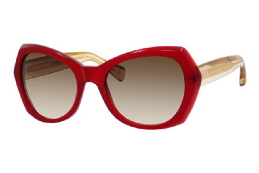 Marc Jacobs 434/S Sunglasses in 03P9 Burgundy (CC brown gradient lens)
