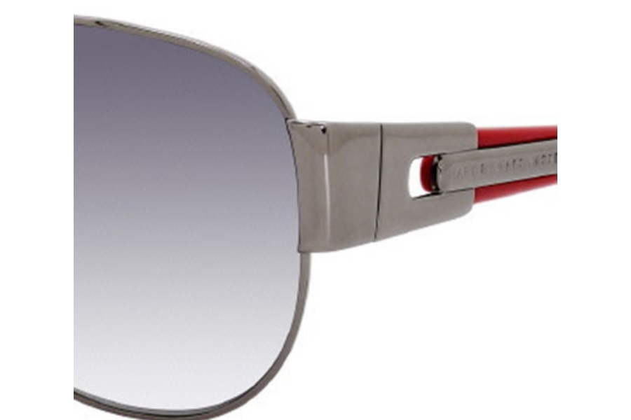 5b538af33e35 Marc By Marc Jacobs MMJ 107/S Sunglasses in 0NK7 Dark Ruthenium / Red ...