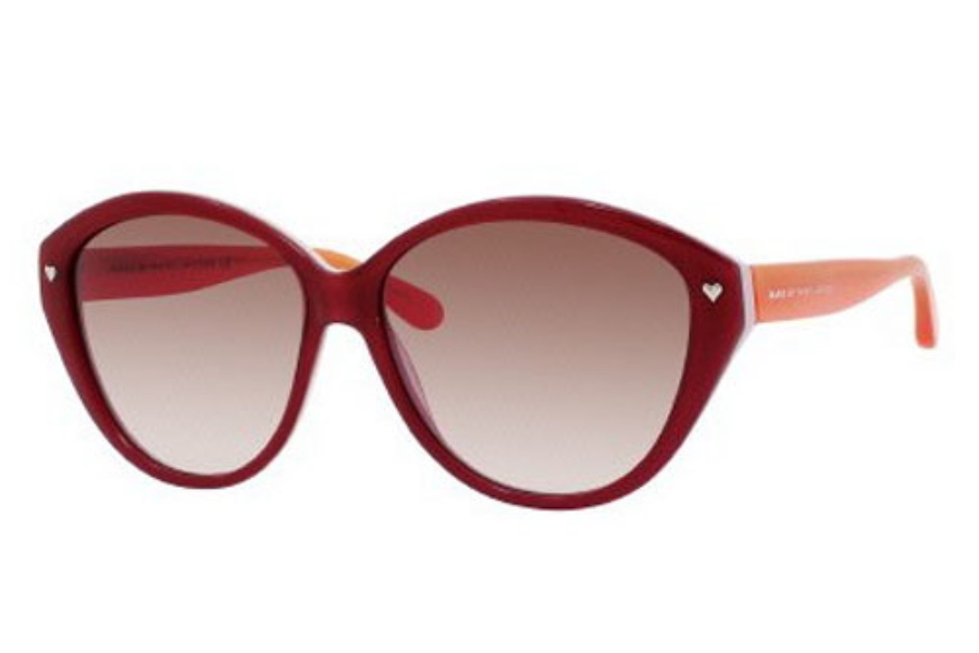 Marc By Marc Jacobs MMJ 289/S Sunglasses in 07U1 Fuchsia Pink (BA brown gradient lens)
