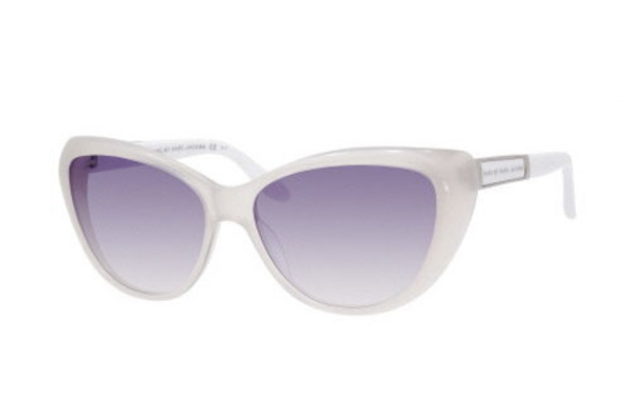 ea82e3e36616 ... Marc By Marc Jacobs MMJ 366 S Sunglasses in 0C43 Opal (VK gray gradient  ...