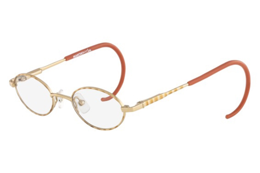 Marchon M-BAILEY Eyeglasses in 120 Sand Dollar