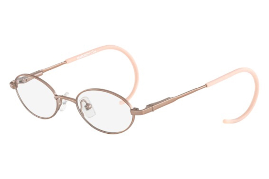 Marchon M-BAILEY Eyeglasses in 664 Pink