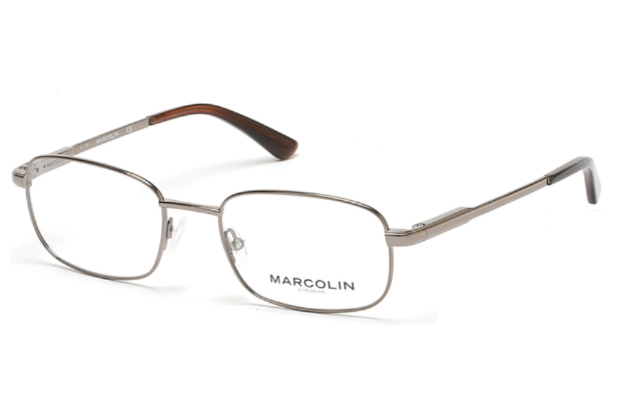 Marcolin MA3003 Eyeglasses in 008 - Shiny Gumetal