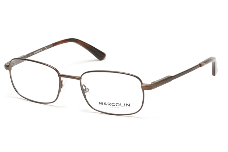 Marcolin MA3003 Eyeglasses in 049 - Matte Dark Brown