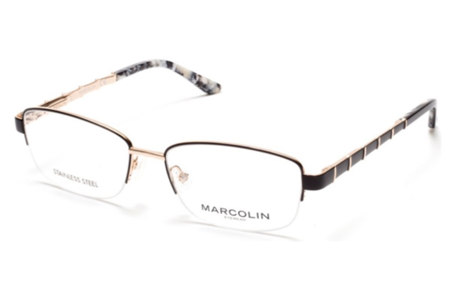 Marcolin MA5015 Eyeglasses in 005 - Black/Other