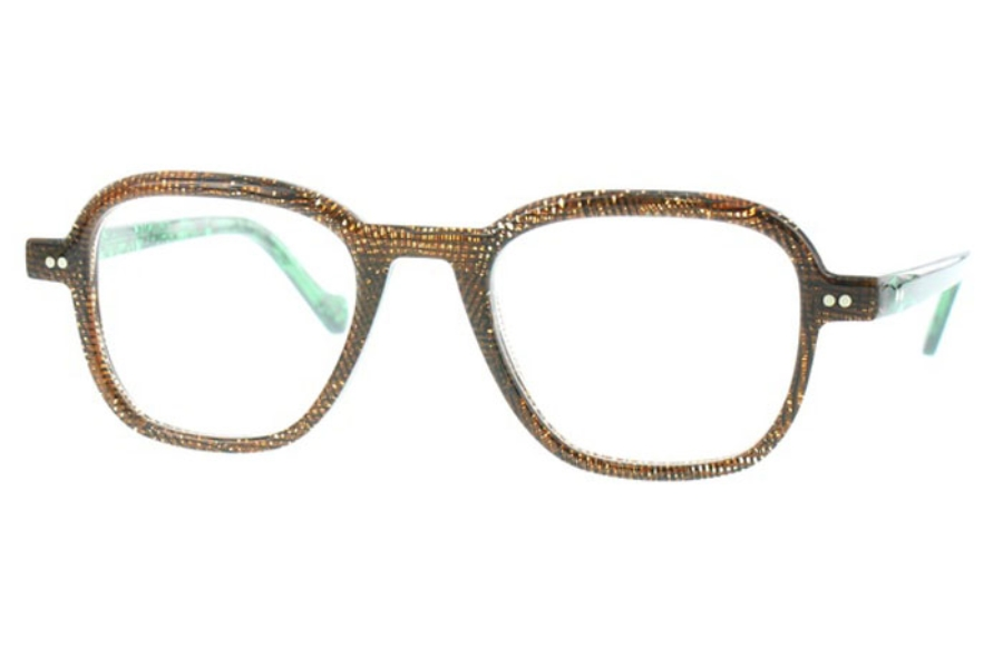 Matttew Samson Eyeglasses in 718 Brown