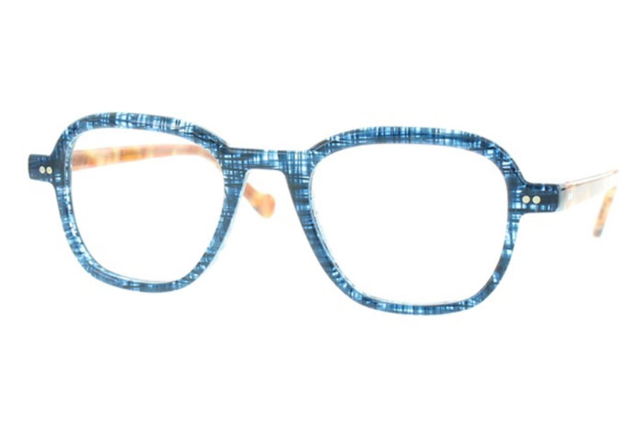 Matttew Samson Eyeglasses in 719 Blue
