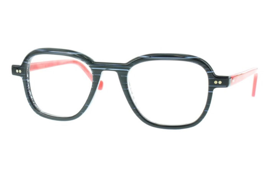 Matttew Samson Eyeglasses in 721 Black