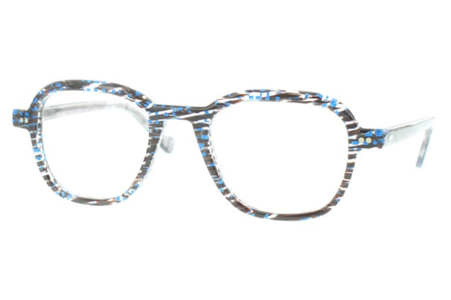 Matttew Samson Eyeglasses in 722 Navy