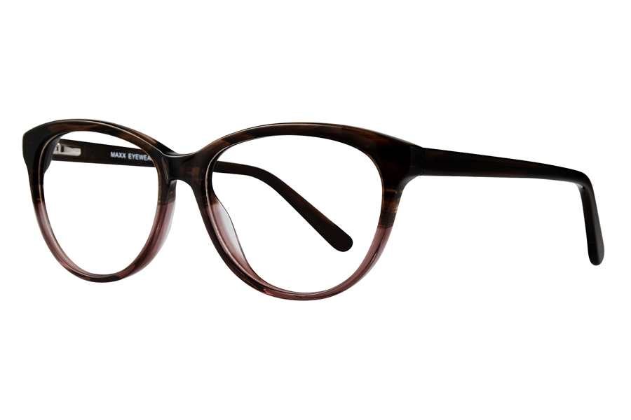 Maxx Natalie Eyeglasses in Burgundy